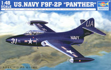 Trumpeter 1/48 US Navy F9F-2P Panther