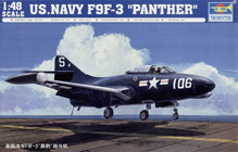 Trumpeter 1/48 US Navy F9F-3 Panther