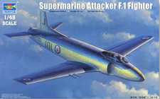 Trumpeter 1/48 Supermarine Attacker F.1 сборная модель